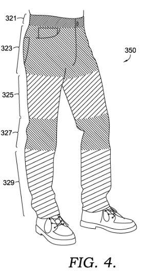 Nike denim patent