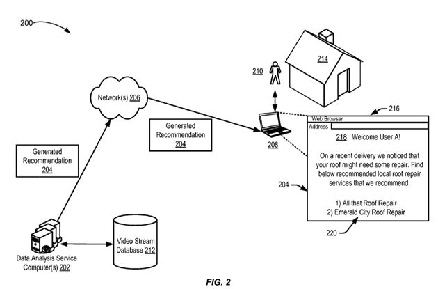 Amazon drone delivery feedback patent image_Dawn Ellmore Employment