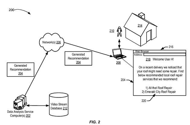 Amazon drone delivery feedback patent image_Dawn Ellmore Employment